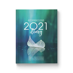 Affirmations 2021 Blue Diary
