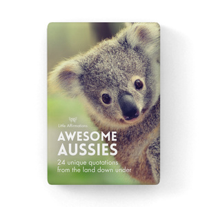 DAA - Awesome Aussies - 24 card pack + stand