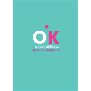 F110 - OK it's your birthday