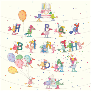 K254 - Happy Birthday - Twigseeds Greeting Card