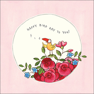 K258 - Happy bird day - Twigseeds Greeting Card