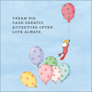 K259 - Dream big - Twigseeds Greeting Card