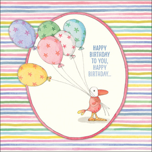 K262 - Happy Birthday - Twigseeds Greeting Card
