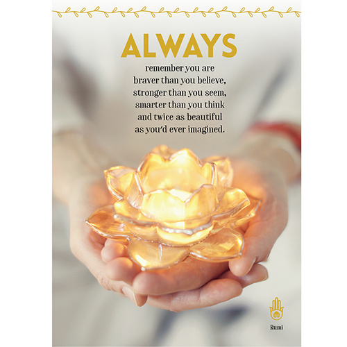 A108 - Always remember - Greeting Card